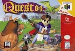 Quest 64 (USA) Box Scan